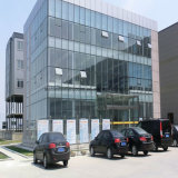 Schönes Stahlkonstruktion-Bürohaus mit großem Platz