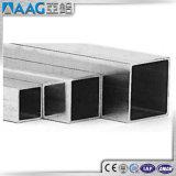 Tubo de aluminio rectangular grande