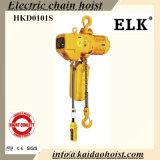 Una gru Chain elettrica da 3 tonnellate con il carrello manuale (HKDH0301S)