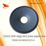 Heißer Verkaufs-Lautsprecher zerteilt Lautsprecher Papar Kegel PA-15inch - Lautsprecher-Kegel, freie Probe