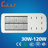 5 ans de la garantie 30W 60W 90W de rue de lampe d'éclairage LED