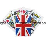Карточки высокого качества играя подгоняли карточки логоса конструкции/печатание подгонянные профессионалом играя