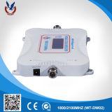 Conexión inalámbrica DCS WCDMA 1800/2100MHz repetidor de señal móvil