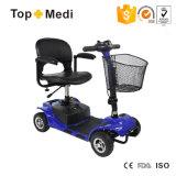 De Afneembare Regelbare Vierwielige Elektrische Autoped van Topmedi voor Gehandicapten