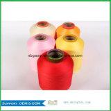 Berufslieferanten-FarbeSpandex deckte Garn 32s für das Stricken und das Spinnen von 30150/144f ab