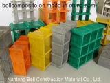 ガラス繊維の格子、FRPの格子、GRPの格子、形成された格子、Pultrudedの格子