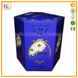 Cadre de papier personnalisé d'emballage de cadeau/boîte à vin/cadre de bijou