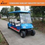 強力な電気6人の乗客のゴルフカート、観光のゴルフカート、販売のための安いゴルフカート