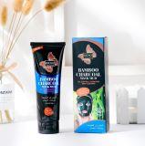 Contrôle de l'huile de charbon de bois de bambou & Masque facial hydratant