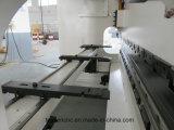 máquina de dobra Eletro-Hydraulic do CNC da placa de metal da folha de 250t 3200mm