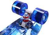 Mini skate do plástico do cruzador da placa do patim dos peixes