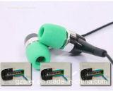 Extrémités d'usage courant de mousse de mémoire d'annulation de bruit de remplacement d'extrémités d'écouteur de la qualité 4.9mm