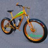 """26 """" 뚱뚱한 타이어 바닷가 전기 자전거 또는 Bycicle/Ebike를 비 접히는 36V 350W 산 운동 전기 자전거"""