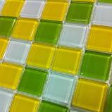 クリスタルグラスのモザイク(VMG4304、300X300mm)
