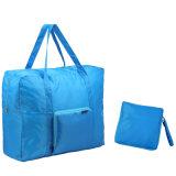 Conception de logo personnalisé sac sac nylon sac à dos de pliage pour les voyages