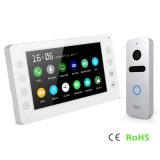 Interphone памяти 7 дюймов высокого качества внутренной связи телефона двери домашней обеспеченностью видео-