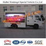 Foton 4.8cbm de Mobiele Vrachtwagen van het Aanplakbord met het LEIDENE Scherm