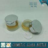 Botella cosmética cosmética de la botella y de la crema cosmética