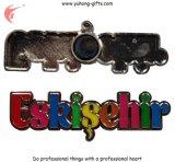 Kühlraum-Magnet des Fabrik-Preis-Metall3d für Förderung (YH-FM086)