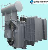 132kV Classe transformateur d'alimentation d'huile Immergé (jusqu'à 150MVA)