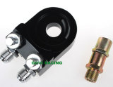 Переходники сандвича двигателя переходники фильтра для масла алюминия CNC всеобщие