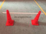 cono rotondo dei coni di addestramento di calcio di 50cm per addestramento di velocità
