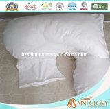 Cobertura de algodão com enchimento de poliéster hipoalergênico Almofada de maternidade confortável
