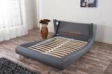 Горячая кровать кожи размера ферзя надувательства 2017