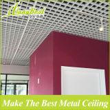Réseau en aluminium de plafond suspendu des graines en bois architecturales
