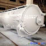 autoclave aérospatial approuvé de production de fibre de carbone de gisement de la CE de 1500X7500mm (SN-CGF1575)