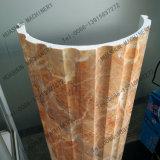 Macchina di marmo UV dell'espulsione di profilo del PVC per la riga della decorazione della costruzione