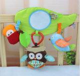 Kundenspezifisches Plüsch-Baby-Bett spielt Säuglingsbett-hängendes Spielzeug