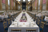 In het groot Plastic Stoel Chateau voor Huwelijk/Partij