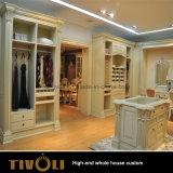 メラミン食器棚の白い戸棚の木製のフルハウスの家具Tivo-053VW