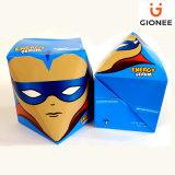 Boîte de conditionnement de papier pour le rétablissement des yeux sur mesure pour le café