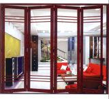 Porte pliante en aluminium de la meilleure qualité / Porte pliante en verre