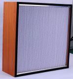 Воздушный фильтр Glassfiber HEPA с гальванизированной рамкой
