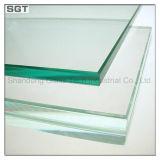 vidro do edifício do vidro temperado de 10mm para a construção