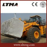 Visión de conjunto del modelo nuevo de Ltma cargador de la rueda de la carretilla elevadora de 22 toneladas