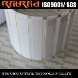 싼 가격 공백 인쇄할 수 있는 수동태 860-960MHz 접착제 RFID 레이블 스티커