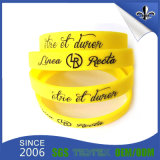 Vente en gros Custom Fashion Silicone Bracelet for Engagement Gift