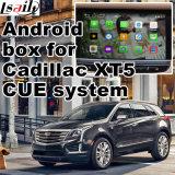 Cadre de navigation de l'androïde 4.4 GPS pour le cadre visuel de surface adjacente de Cadillac Xt5