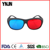 Ynjn Wholesale Bulk Good Price Lunettes 3D Rouge Bleu (YJ-3D001)