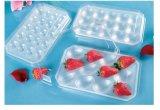 واضحة مستهلكة بلاستيكيّة صينيّة ثمرة يعبّئ صينيّة نباتيّة يعبّئ صينيّة