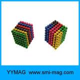 La fábrica de la alta calidad suministra 216 bolas magnéticas del color magnético de la bola