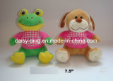 Plush Valentine Frog avec Love T-Shirt