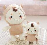 Juguete suave de la muñeca de la felpa linda coreana