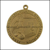 Gravierte Goldmetallmedaille, Medaille des Marathon-3D (GZHY-MEDAL-028)