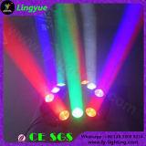 LED 크리 사람 RGBW 거미 광속 이동하는 맨 위 단계 디스코 DJ 점화