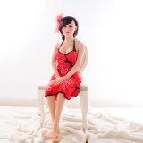 Кукла секса силикона скелета 140cm металла поставщика игрушки секса Китая молодая